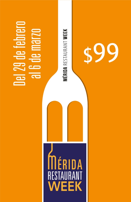 poster general color 5 - doble carta - merida restaurant week